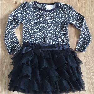 Cute floral onesie with black tutu🖤